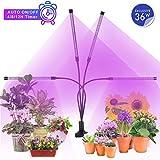 MiMiya Lampe de Croissance pour Plantes, 5 Niveaux à variation réglable LED Plante...