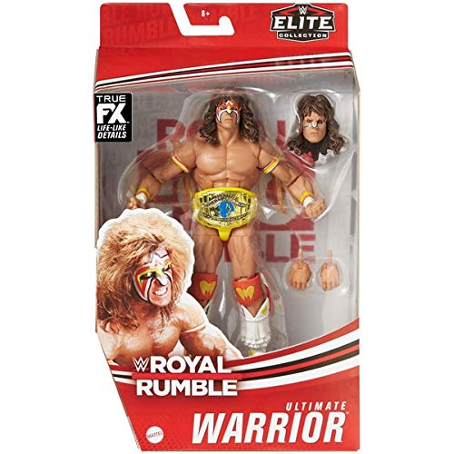 The Ultimate Warrior Royal Rumble Elite Series Action-Wrestling-Figur WWE Mattel