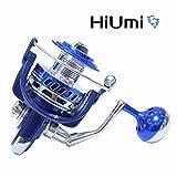 Hiumi 30KG Power Drag Saltiga Spinning Reels Heavy Duty Sea Fishing Boat Fishing Jigging Fishing Reel 4000 5000 6000 7000 8000 9000 (10000)