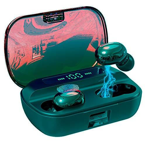 Tronsmart Onyx Ace TWS Bluetooth 5.0 Kopfhörer mit 4 Mikrofonen, Wireless Ohrhörer mit Rauschunterdrückung, Qualcomm aptX Audio, 24-Stunden-Spielzeit, Touch-Steuerung und Sprachassistent-Weiß