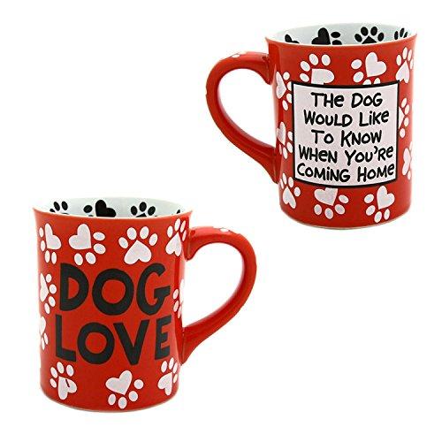 Our Name is Mudd Dog Love Coffee Mug 16-Ounce Lorrie Veasey