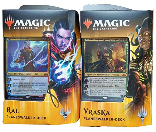 Gilden von Ravnica - Planeswalker Deck deutsch - MTG Magic The Gathering, Deck:Deck Set (RAL + Vraska)