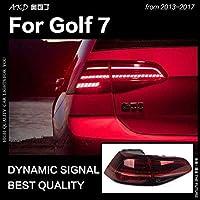 ゴルフ GOLF 7 7.5 LED用 AKD VW ゴルフ 7 7.5 カースタイリングテールライト 2013-2017 MK7 LED テールランプ