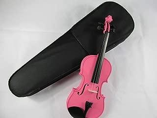 Color : Pink ACHKL Light wood color pink violin pink violin students to practice musical instruments popular handmade violin ACHKL