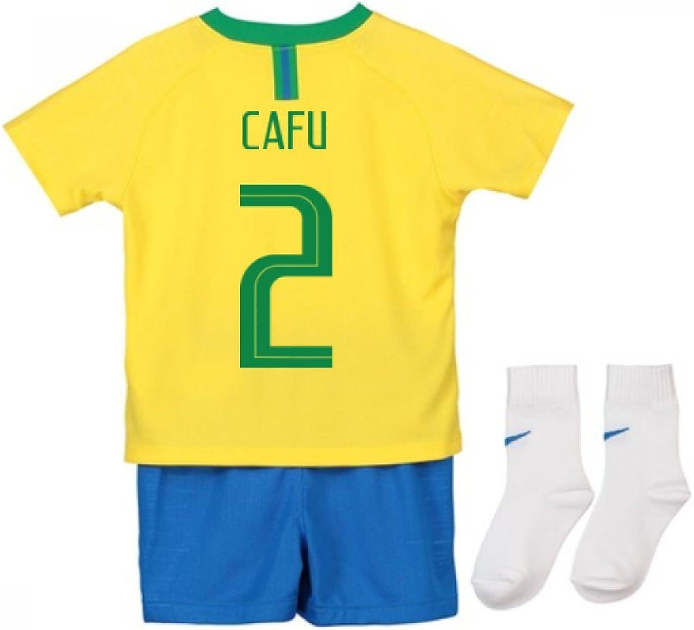 2018-2019 Brazil Home Nike Baby Kit (Cafu 2)