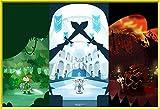 Luyshts Rompecabezas de 1000 Piezas Puzzle Rompecabezas La Leyenda de Zelda: Breath of The Wild niños Adultos Juego interesantes Amigo Familiar