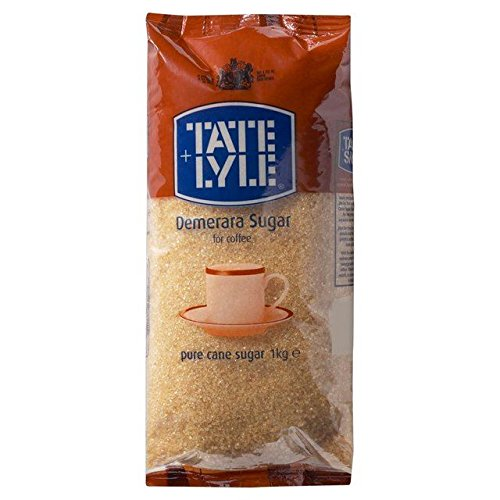 Tate & Lyle Fairtrade Demerara Sugar - 1kg (2.2lbs)
