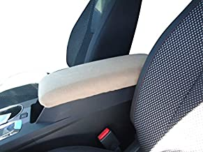 Car Console Covers Plus Made in USA Fleece Center Armrest Console Cover Designed to fit Toyota Venza Models 2009-2014 Light Tan