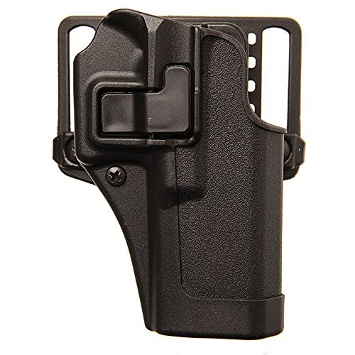 "BLACKHAWK 410565BK-R CQC Concealment Serpa Holster for Springfield Armory XDS 3.3"" Black"
