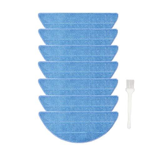Ersatz Reinigungstuch Kompatibel mit Medion MD 18501 MD 19510 Roboter-Staubsauger, 7 Stück