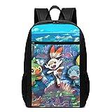 WLQP Pok?mon Cool Adult Backpack Shoulder Bag for Traveling