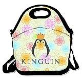 N\A Kinguin Penguin Lunch Bag Correa Ajustable