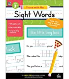 Carson Dellosa Trace With Me: Sight Words Handwriting Workbook—PreK-Grade 2 Writing Practice, Tracing Letters of the Alphabet and Sight Words (128 pgs)
