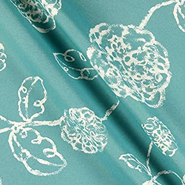 Magnolia Home Fashions Outdoor Melbourne Ocean Fabric by the Yard