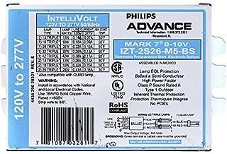 Philips Advance IZT-2S26-M5-BS Mark 7 Electronic Flourescent Ballast, 0-10V, CFL by Advanced Ballasts