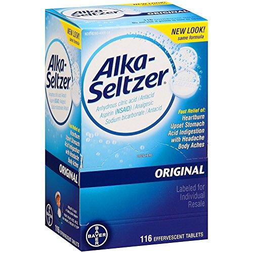 SCS Alka-Seltzer Original Antacid and Analgesic - 116 ct.