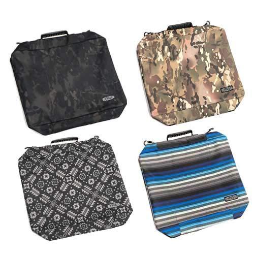 ROUZE(ラウズ) BOOTS BAG I ブーツバッグ ブーツケース RZB533 (ジグザグボーダーBL)