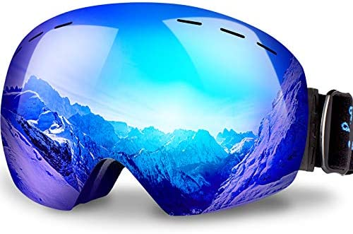 Keary OTG Ski Goggles Snowboard Goggles Over Glasses Snow Sports Goggles for Women Men Adult product image