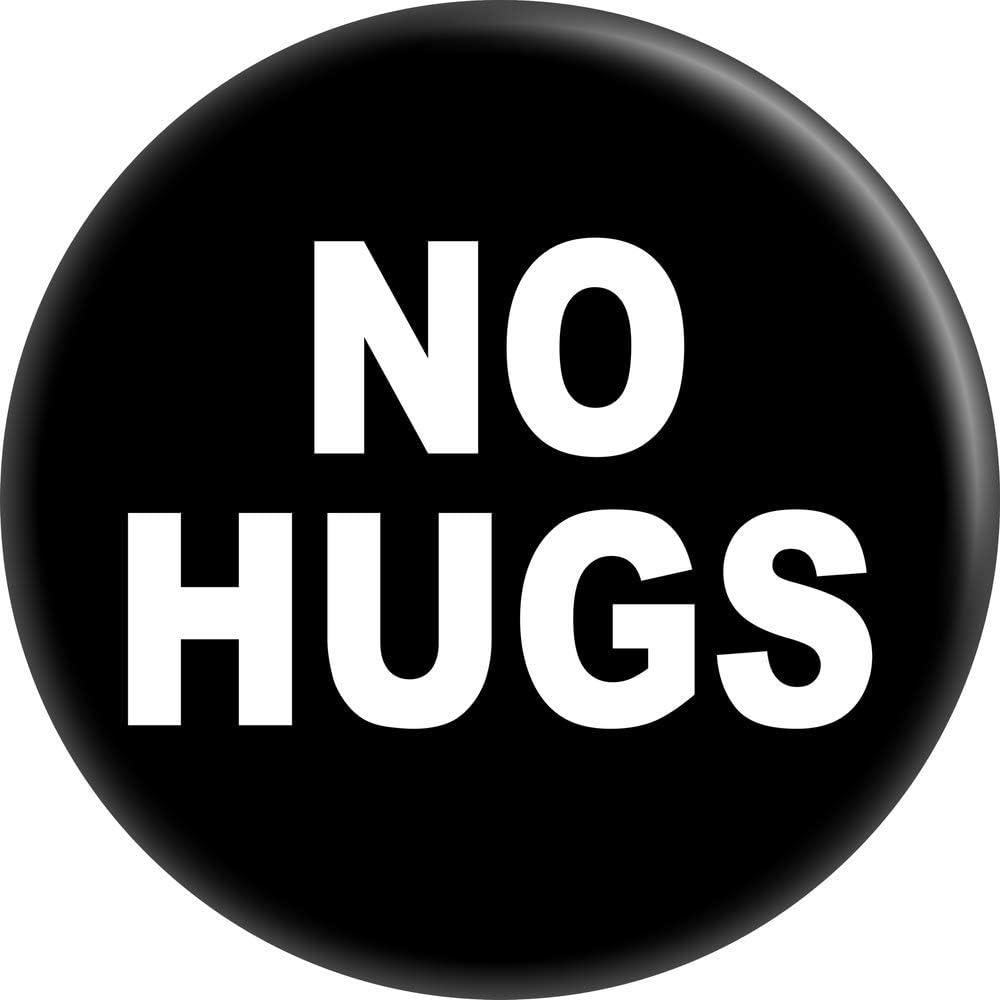 No Hugs New item - White On Under blast sales 1.5