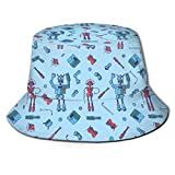 Shichangwei Cappello da Pescatore a Tesa Larga da Uomo per Donna, Cappello da Pescatore, per Viaggi in Spiaggia in Giardino 700