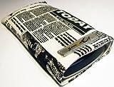 Norrun Handytasche / Handyhülle # Modell Nevelong # ersetzt die Handy-Tasche von Hersteller / Modell TCM (Tchibo) Kompakt-Handy 2 # maßgeschneidert # mit einseitig eingenähtem Strahlenschutz gegen Elektro-Smog # Mikrofasereinlage # Made in Germany