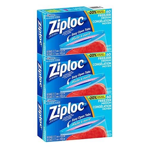freezer quart ziploc - 8