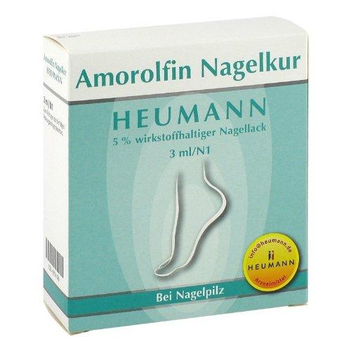 Amorolfin Nagelkur 5% wirkstoffh. Nagellack