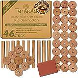 Teneola 46 Stck Bio Mottenschutz aus Zedernholz