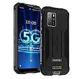Smartphone Robuste 5G OUKITEL WP10 (2021) 6,67 Pouces FHD + Étanche 8 Go 128 Octa-Core NFC 8000mAh Android 10 Caméra 48MP Double Carte SIM Extérieure IP68 / 69 Antipoussière et Antichoc