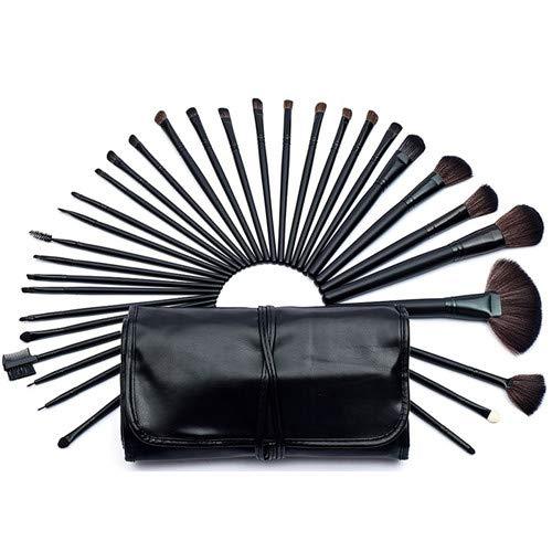 MEIYY Pinceau De Maquillage 32Pcs Maquillage Professionnel Pinceaux Set + Sac Poudre Blush Pinceau Maquilleur Brosse Cosmétiques Outils + Meilleure Qualité