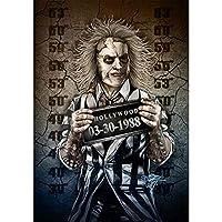 5D Diyダイヤモンド絵画ハロウィーン、刑務所の写真、ジョーカー、アルテホラー映画のクロスステッチ