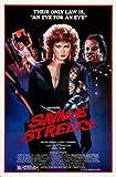 Savage Streets Poster 01 A3 Box Canvas Print
