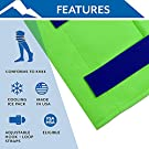 Polar Ice® Standard Knee Wrap, Universal Size – Support Wrap for Cold Therapy & Mild Compression – Lightweight & Easy to Pull On – for Post-Surgery, Rehab, & Physical Activities – Made in USA #1