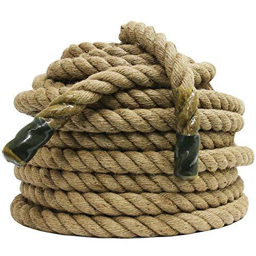 Apollo Tauziehen Seile – Manila gedrehtes Seil • Strapazierfähiges und natürliches Seil • Wettkampfseil • Camping Seil • Kletterseil