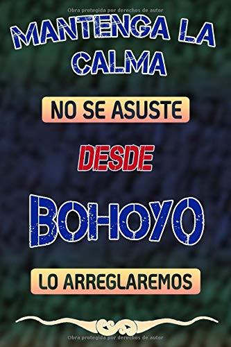Mantenga la calma no se asuste desde Bohoyo lo arreglaremos: Cuaderno | Diario | Diario | Página alineada