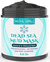 Nuva Spa: Dead Sea Mud Mask for Face Acne, Oily Skin & Blackheads – Wash-Off Dead Sea Face Mask – Natural Moisturizing Mineral Cleanser Treatment Reduces Facial Pores