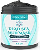 Nuva Spa: Dead Sea Mud Mask for Face Acne, Oily Skin & Blackheads  Wash-Off Dead Sea Face Mask  Natural Moisturizing Mineral Cleanser Treatment Reduces Facial Pores