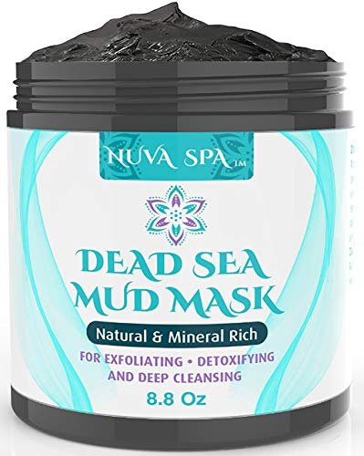 Black Friday | Nuva Spa: Dead Sea Mud Mask for Face Acne, Oily Skin & Blackheads – Wash-Off Dead Sea Face Mask – Natural Moisturizing Mineral Cleanser Treatment Reduces Facial Pores, Gym exercise ab workouts - shap2.com