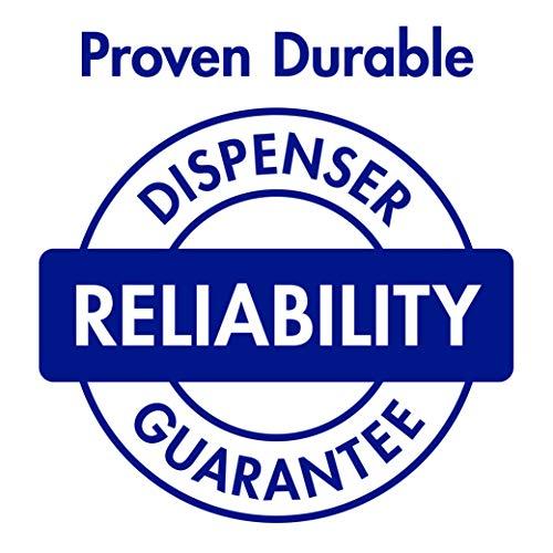 PURELL FMX-12 Push-Style Hand Sanitizer Foam Dispenser, White, Dispenser for 1200 mL PURELL FMX-12 Sanitizer Foam Refill - 5120-06