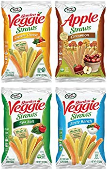 24-Count Sensible Portions Veggie Straws Snack Size Variety Pack