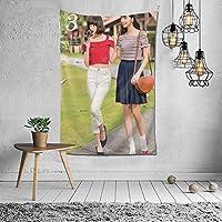 2021 小松菜奈(こまつ なな Nana Komatsu) タペストリー ファッションの絶妙な印刷リビングルームの入り口寝室の背景壁の装飾カスタマイズされた壁掛け布 (152*102cm)