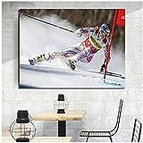 yhyxll Lindsey Vonn Weltcup Alpine Skirennfahrer Poster und