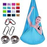 Viktion 4m*2.8m Aerial Yoga Hängematte Set Aerial Yoga Tuch Hängematte