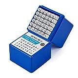 BENECREAT 36 Pack (3mm) Sellos de Letras y Números Herramientas Mate Estampadas de Metal ...