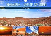 Namibia - Weite spueren (Wandkalender 2022 DIN A4 quer): Eine Fernweh-Tour durch das afrikanische Land (Monatskalender, 14 Seiten )