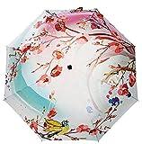Best Uv Parasols - Estwell Travel Compact Art Umbrella Lightweight Foldable Windproof Review
