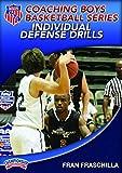 Fran fraschilla: Aau entrenamiento niños Baloncesto Series: individuales defensa taladros (DVD)
