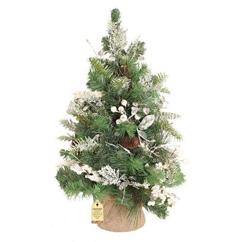 Enchante Snow Drop - Árbol de Navidad con diseño de abeto