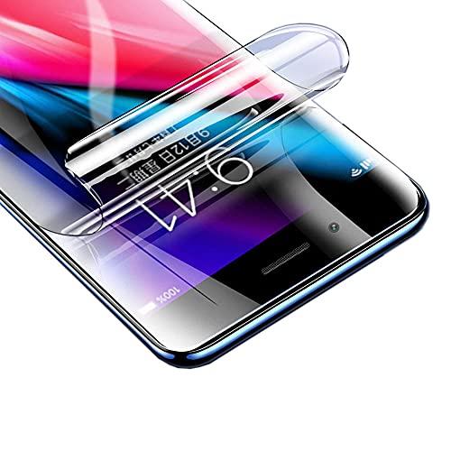 Iiseon Ad Alta sensibilità Pellicola in idrogel Protettiva per iPhone XS Max, 2 Pezzi Trasparente Morbido TPU Protezioni per Lo Schermo [Copertura Completa] (Non Vetro Temperato)