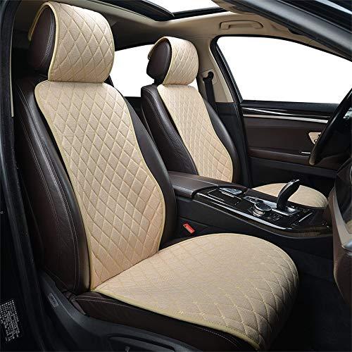 LZRDZSW Asiento de coche universal de la cubierta de asiento de coche Car Styling protector automático cojín del asiento cojín de ajuste interior más fijaciones de los asientos de coche silla de coche
